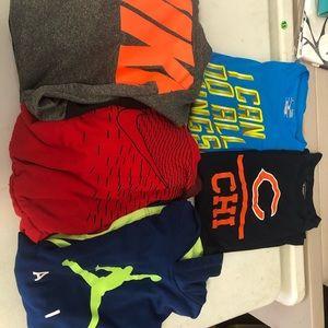Boys Nike/UA lot